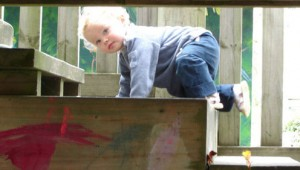 toddler-climbing