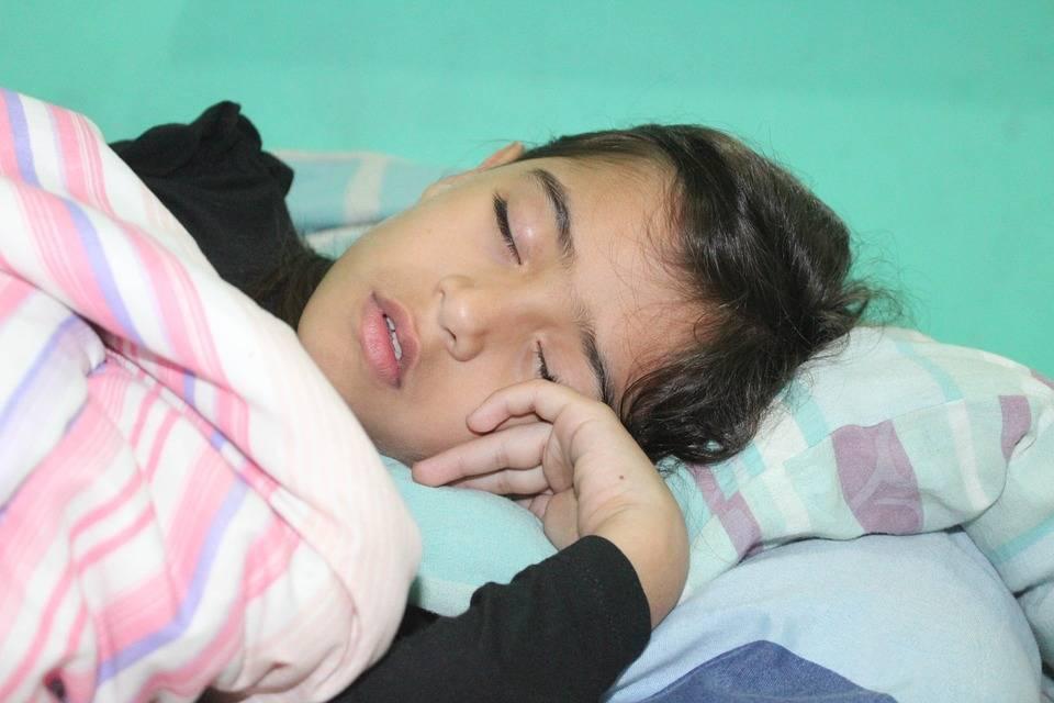 Boy Child Sleeping