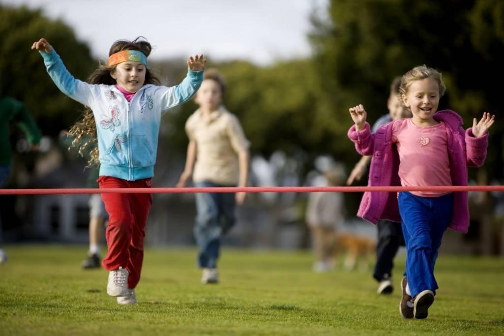 Children Playing in Ground