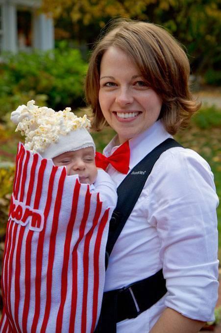 A newborn popcorn