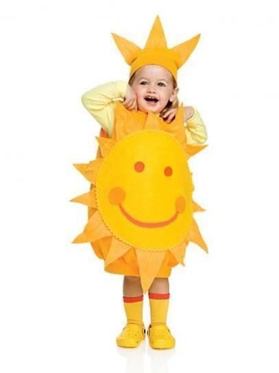 The sun costume