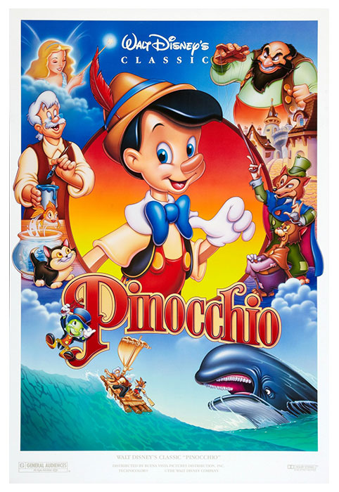 Kids Movie - Pinocchio