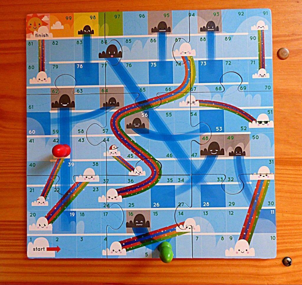 Rain and Rainbow Board Game