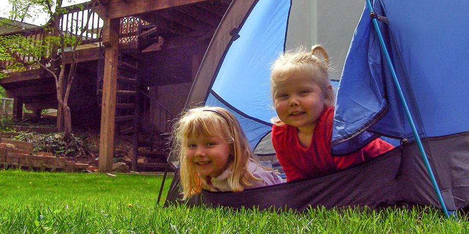 Spark your Kids with a Backyard Camping Adventure