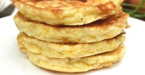 Easy cheese pancakes