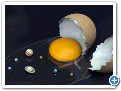 space-art-with-egg