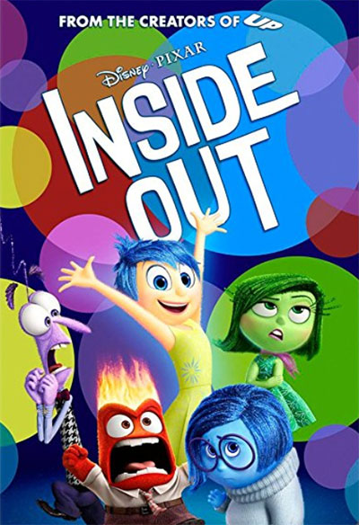 Inside Out - Famous Movie From Walt Disney Animation Studios