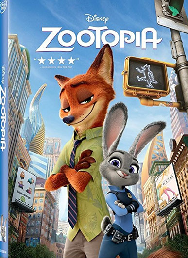 Zootopia - Famous Movie From Walt Disney Animation Studios