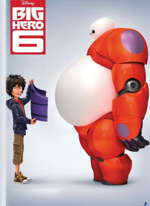 Big Hero 6 - Famous Movie From Walt Disney Animation Studios