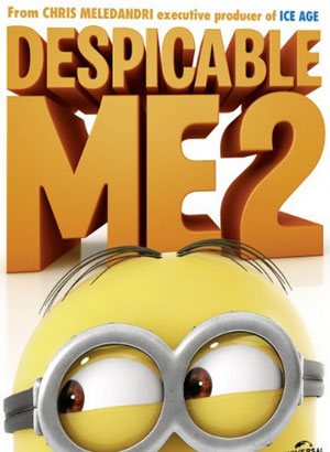 Despicable Me 2 - Famous Animated Movie for Children