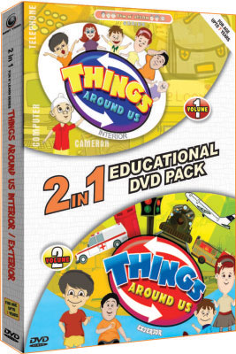 Things Around Us - Educational Pack