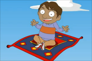 Ali And The Magic Carpet Animated Short Stories For Kids