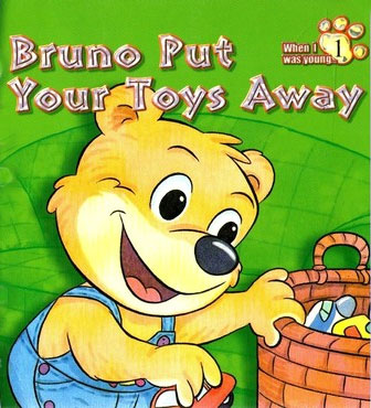 Bruno Put Your Toys Away Kids Book Review