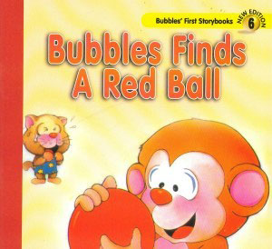Bubbles Finds A Red Ball Children