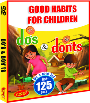 good habits for children do's and don'ts  kids learning