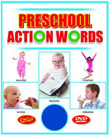 Action Words for Pre-School Kids - Educational DVDs