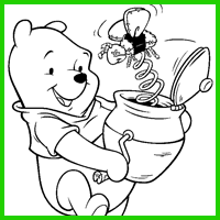 Coloring Image - Magic Pot