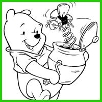 Coloring Image - Magic Pot