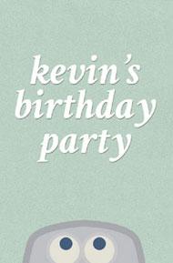 Kevn's Birthday Party