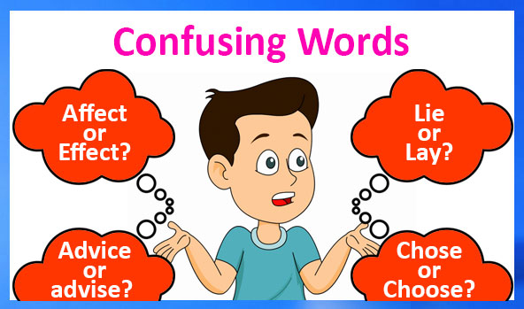 Words Confused Often