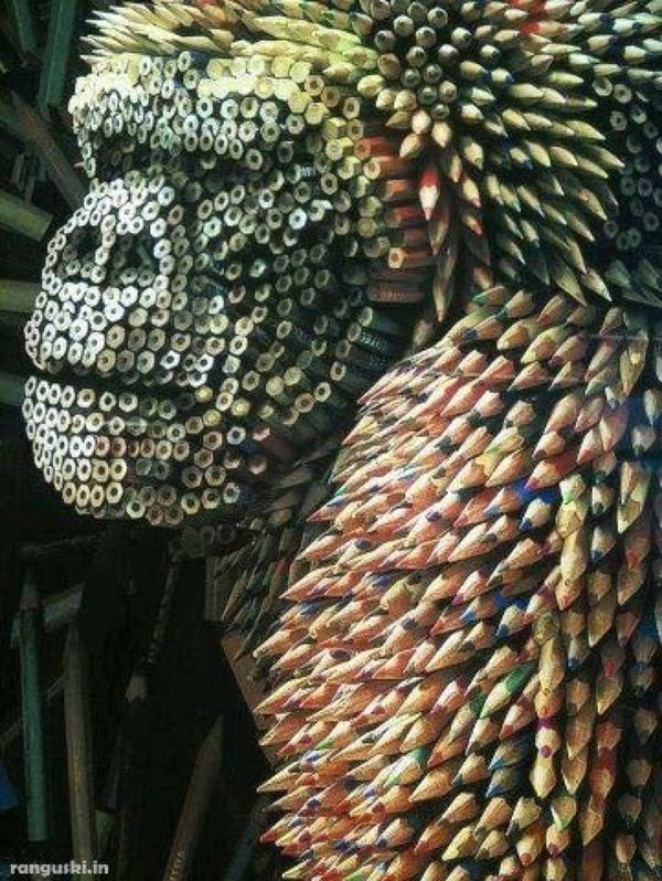 Fun Art With Pencils