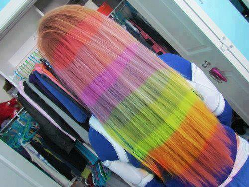 Funny And Colorful Hair Style
