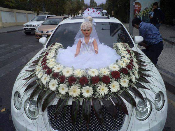 Funny Decorated Car