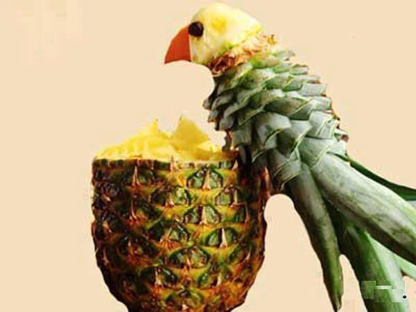 Funny Fruit Craft