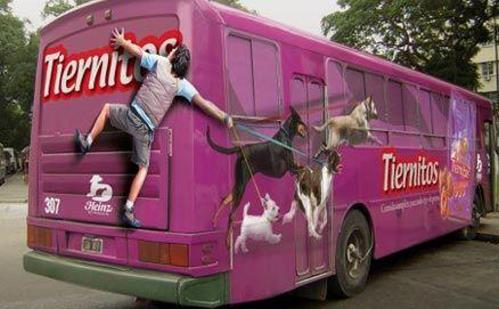 Funny Bus Ads Image