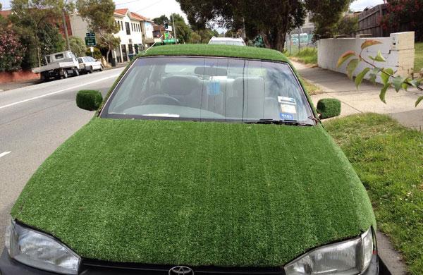 Greenery Car