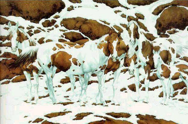 Creative Art - Find out how many horses are in this picture
