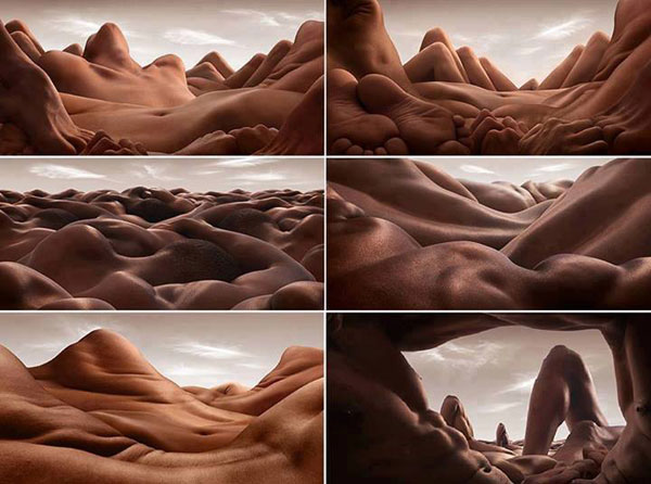 Human Desert - Funny Photo