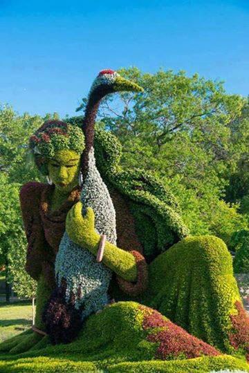 Living Sculpture Fun Picture