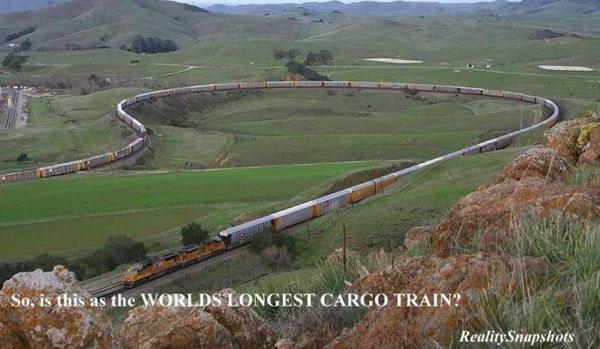 Longest Train Photo