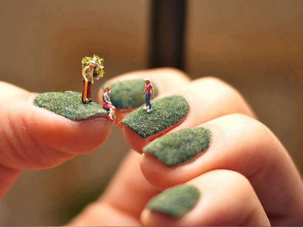 Funny Nail Art Picture