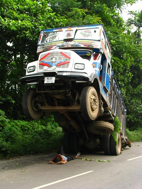Funny Parked Vehicle Photo
