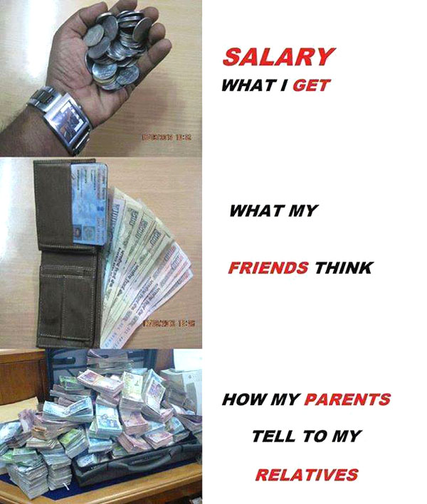 Salary Joke Fun