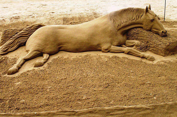 Funny And Amazing Sand Art
