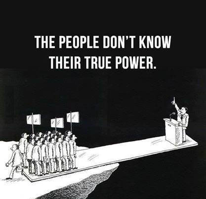 Funny Cartoon - True Power of Human