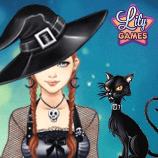 Dress Up Game - Halloween Lily