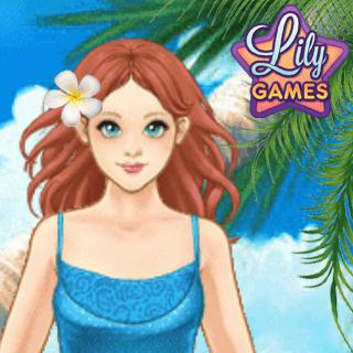Dress Up Game - Summer Lily