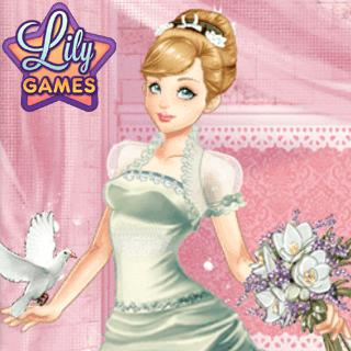 Dress Up Game - Wedding Lily