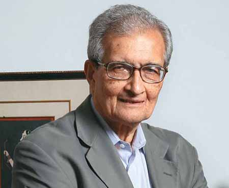 """India is the only country trying to become a global economic power with an uneducated and unhealthy labour force"" – Amartya Sen"