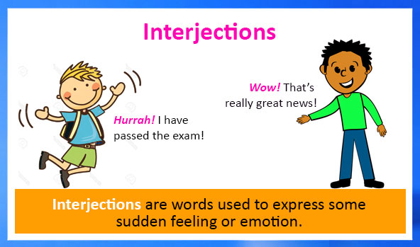 Interjections Definition Types Examples And Worksheets