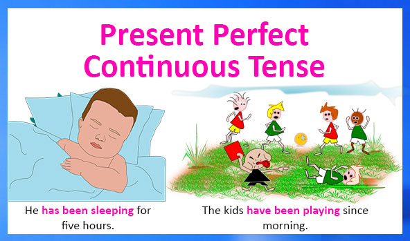 English Grammar - Present Perfect Continuous Tense