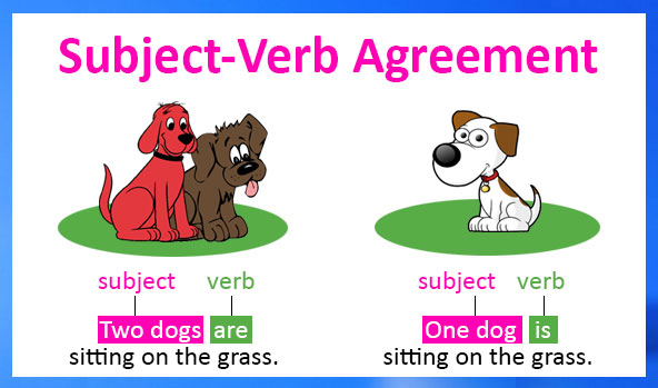 English Grammar - Subject-Verb Agreement