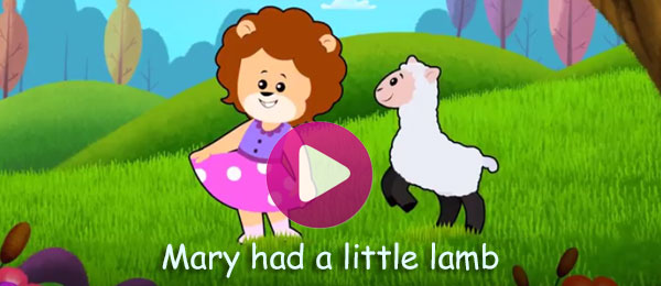 Rhymes - Mary Had A Little Lamb