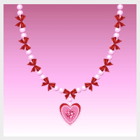 Short Stories - pink pearl necklace