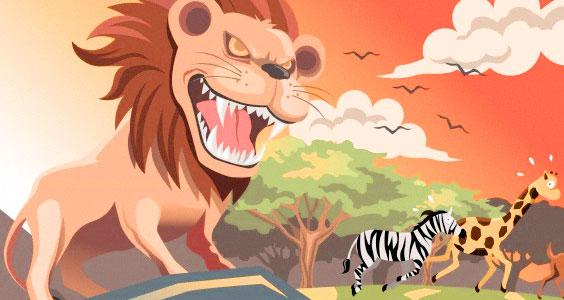 Alex The Lion Roar