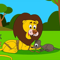 Children S Short Stories With M Lessons The Lion And Mouse